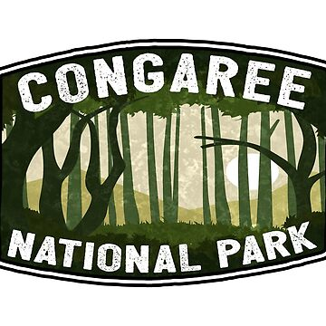 Congaree National Park South Carolina Swamp Hardwood Forest by MyHandmadeSigns