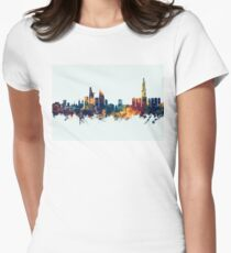 Ho Chi Minh City Vietnam Skyline Women's Fitted T-Shirt