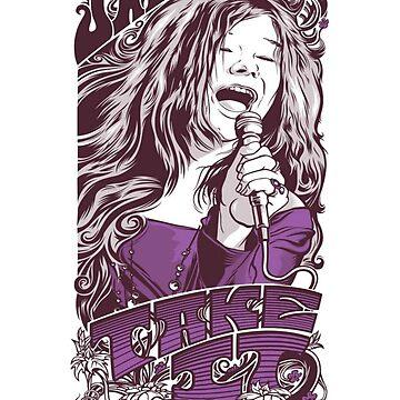 Janis Joplin by christianoo