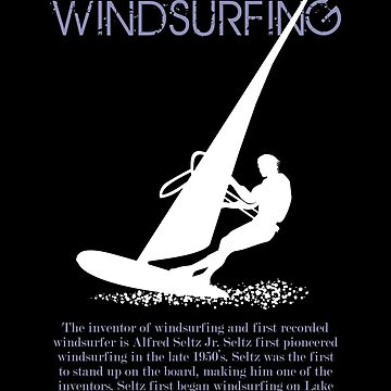 The first pioneer of windsurfing by MegaSitioDesign
