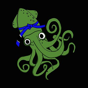 Funny Octopus - Squid Ocean Creature Cephalopod Tentacles Seafood Humor by stuch75