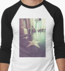 Hollywood, Beverly Hills, celebrities, movies, arts and entertainment Men's Baseball ¾ T-Shirt