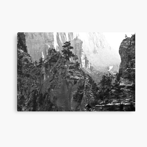 Trail to Angels Landing Canvas Print