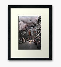 Esplanade Toronto Framed Print