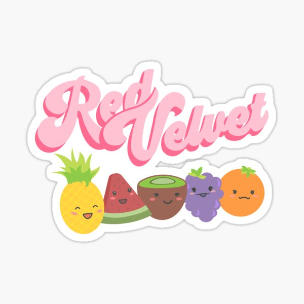 Velours rouge Sticker