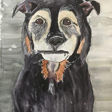 Dog by ElizaC