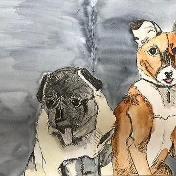 Rocco and Friend by ElizaC