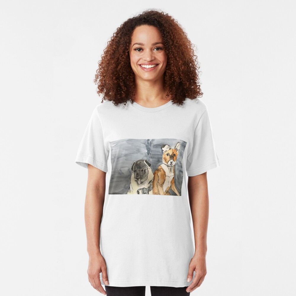 Rocco and Friend Slim Fit T-Shirt