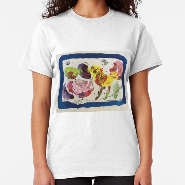 Flowers In My Mind Classic T-Shirt