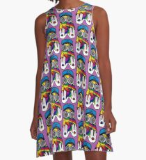Magic Rezz Deep A-Line Dress