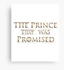 The Prince that was Promised Canvas Print