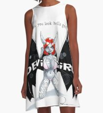Wapsi Square's Devil Bikini Wear A-Line Dress