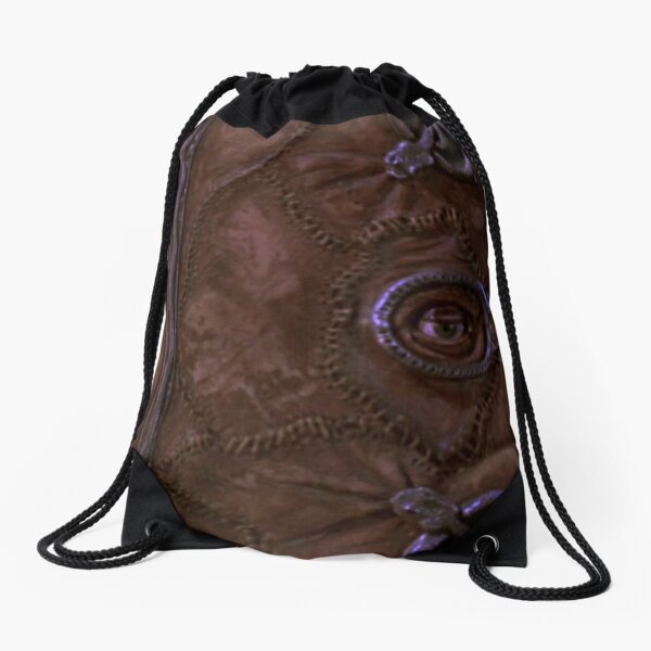 DAVID AND GOLIATH YOU SO PUGLY SCHOOL BACKPACK BROWN