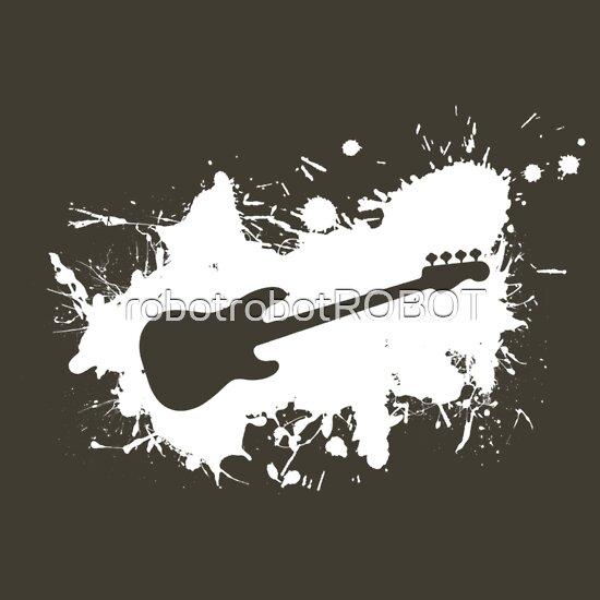 TShirtGifter presents: Precision Bass Splat