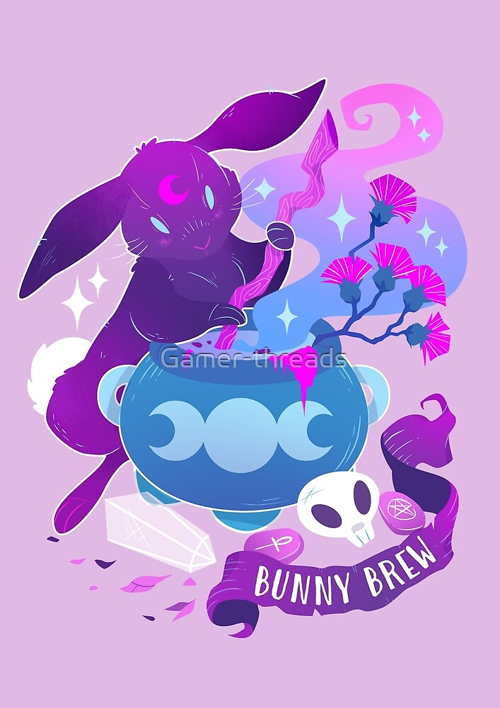 Moon Bunny by Gamer-threads