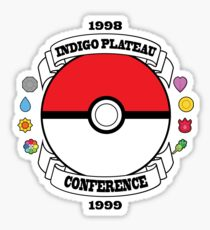 Indigo Plateau conference Sticker