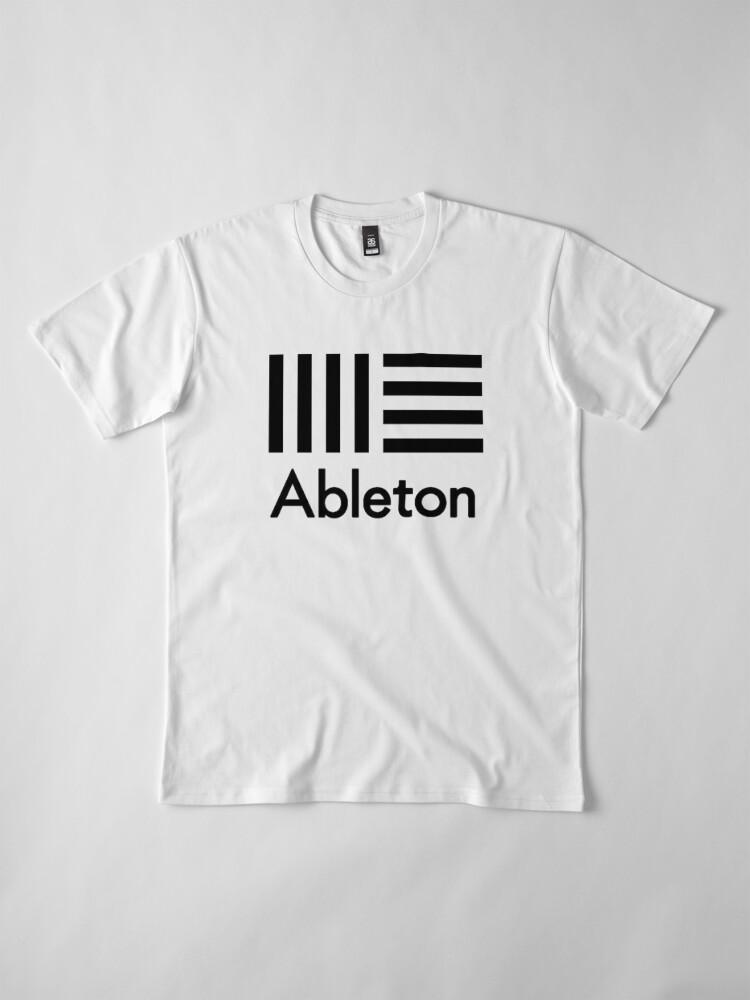 Vista alternativa de Camiseta premium Ableton