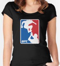 UFC McGregor Vs Khabib Women's Fitted Scoop T-Shirt