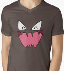 Haunter Face Men's V-Neck T-Shirt
