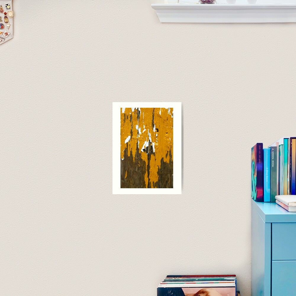 Once Clothed in White, then Yellow Ochre Art Print