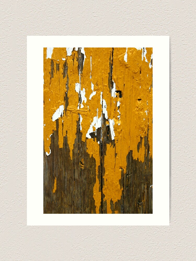 Alternate view of Once Clothed in White, then Yellow Ochre Art Print