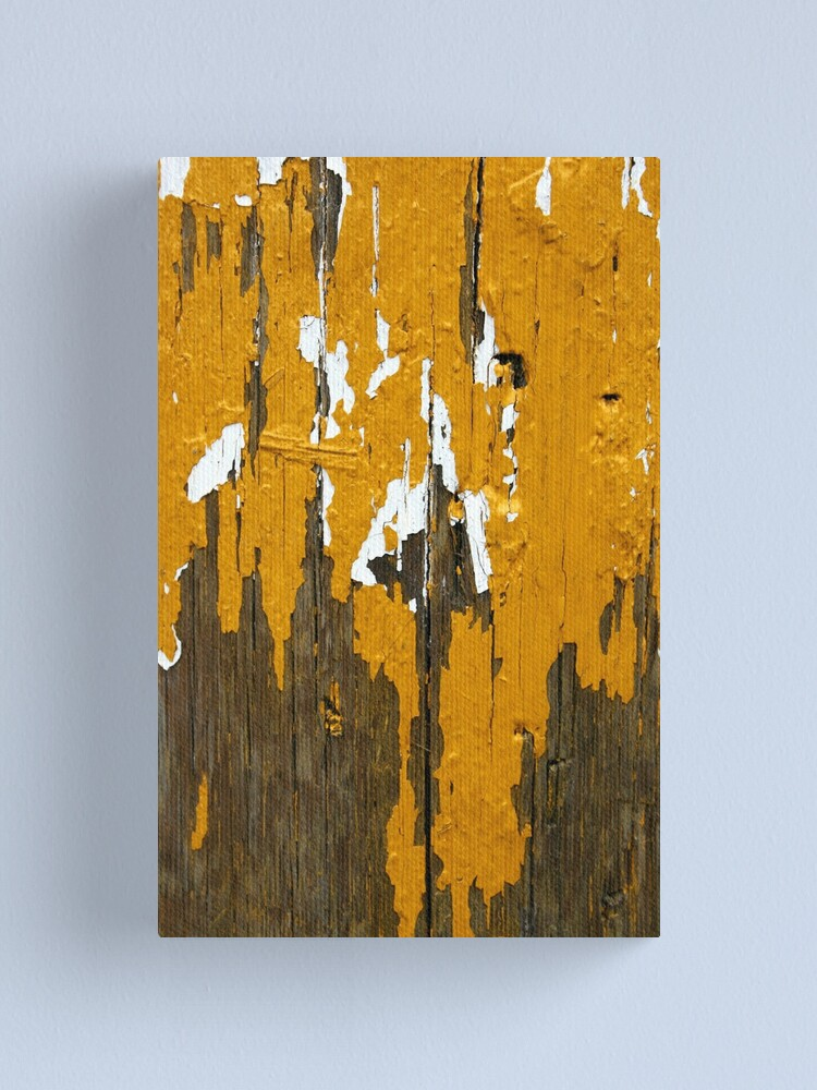 Alternate view of Once Clothed in White, then Yellow Ochre Canvas Print