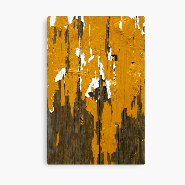 Once Clothed in White, then Yellow Ochre Canvas Print