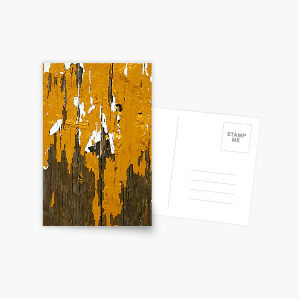 Once Clothed in White, then Yellow Ochre Postcard
