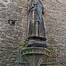 Wooden Statue of Saint Goustan  - Auray, Morbihan, Brittany, France by Buckwhite