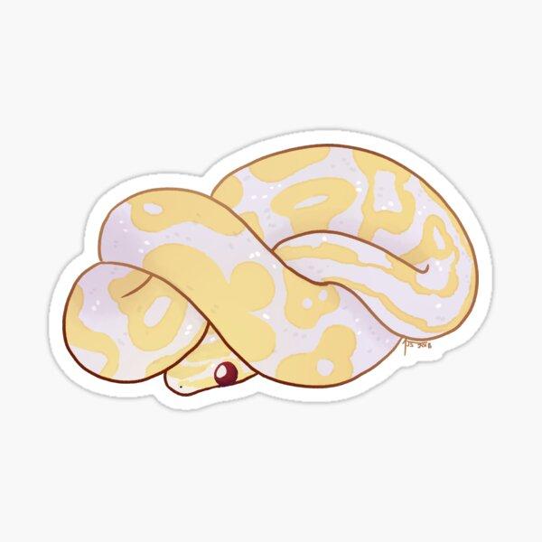 Python Royal: Geneviève Sticker