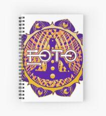 EOTO Bass Invaders Chakra Spiral Notebook