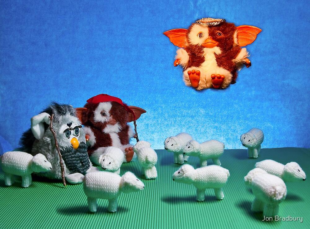 While shepherds watched their flocks by night by Jon Bradbury