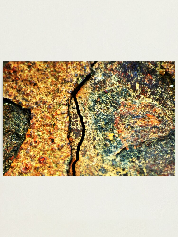 Alternate view of Fractured Landscape Photographic Print