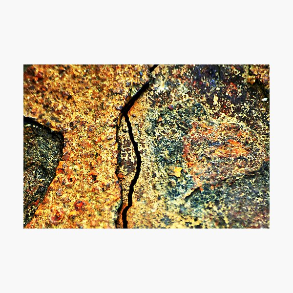Fractured Landscape Photographic Print