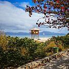 Lifeguard Booth & Autumn colors by Helissa Grundemann