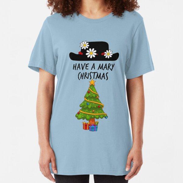 Mary Christmas  Slim Fit T-Shirt