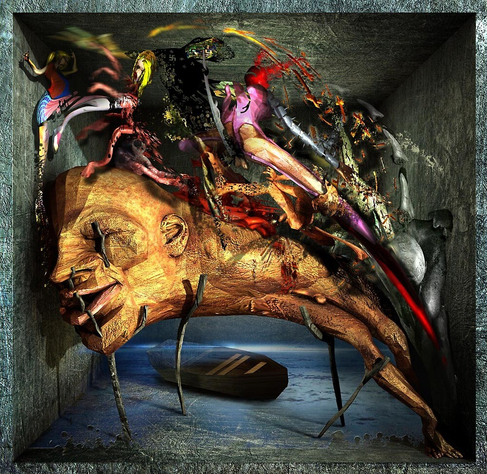 Ecce Homo 80 - The Sleep of Reason Produces Monsters  by Polygonist