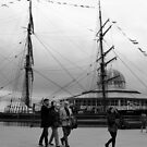 Walking past RSS Discovery by Forfarlass