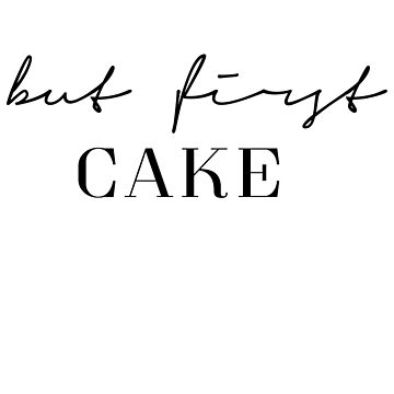 But first cake by PCollection