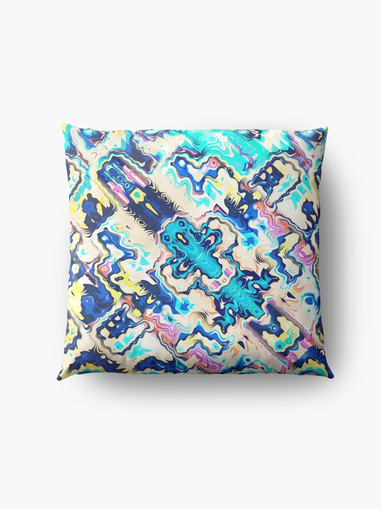 Alternate view of Abstract Aztec Pattern Floor Pillow