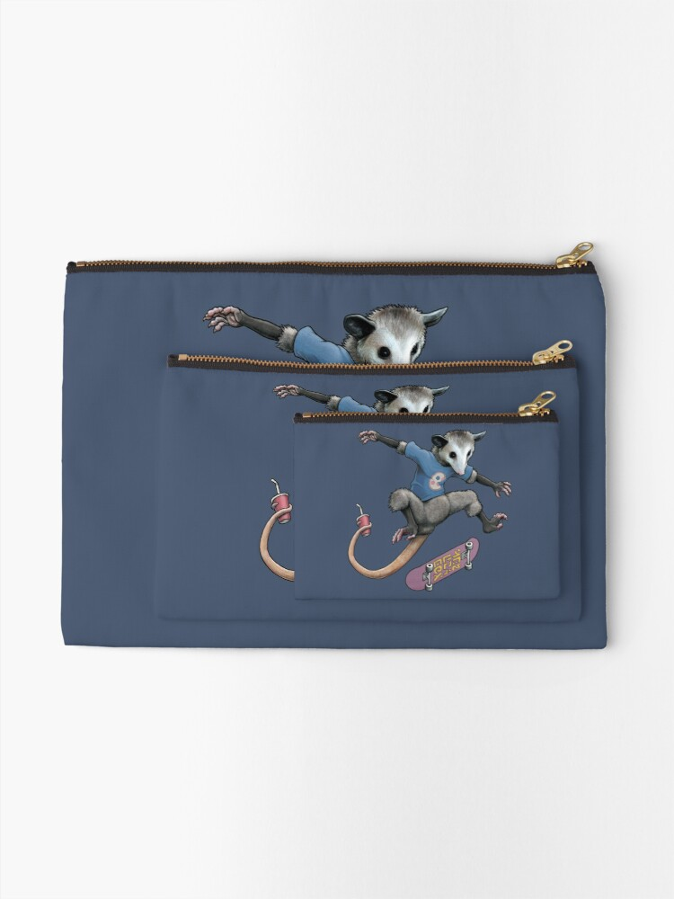 Alternate view of Awesomest Possum Zipper Pouch