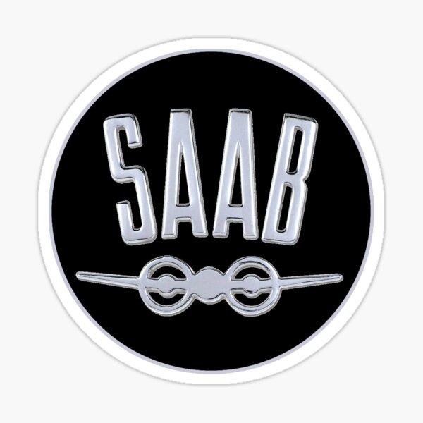 Saab Cars Schweden Sticker