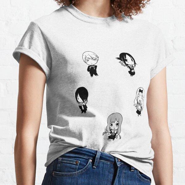 PACK DE ETIQUETAS DE Kaguya-sama Camiseta clásica