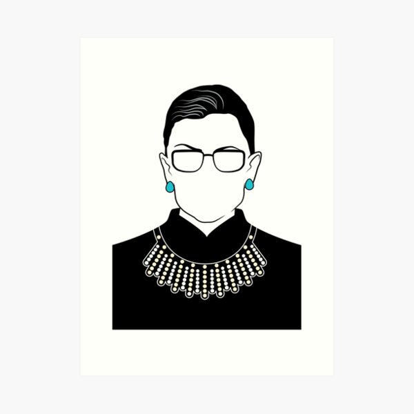 Ruth Bader Ginsburg Art Prints Redbubble