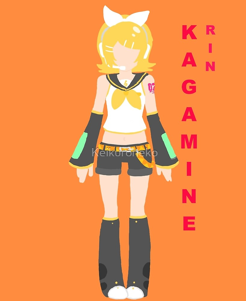 Rin Kagamine - Text vers. by Keikuroneko