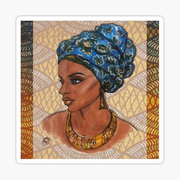 Nubian Queen Sticker