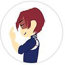 Shoto - Boku No Hero Academia by tonguetiedart