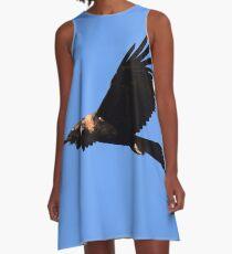 Wedge-tailed Eagle (Flight) A-Line Dress