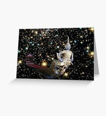 Royal Barge to the stars Greeting Card