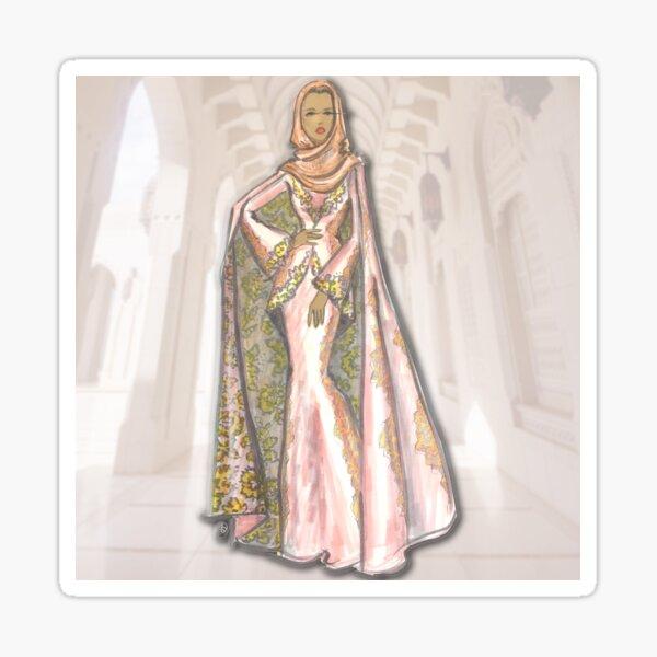 Hijabi Luxe Alhambra Sticker